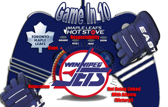 Game In 10: Game 40, Leafs vs. Jets