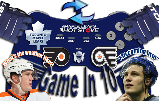 Game In 10: Game 55, Leafs at Flyers