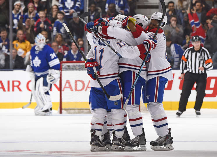 Game 60 Scoring Chances And Zone Entries Canadiens 4 Vs Leafs 1 Maple Leafs Hotstove